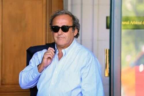 Soccer: Ex-UEFA chief Platini hunts those behind his ban