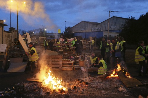 Paris riots over fuel taxes dim hopes for climate fight