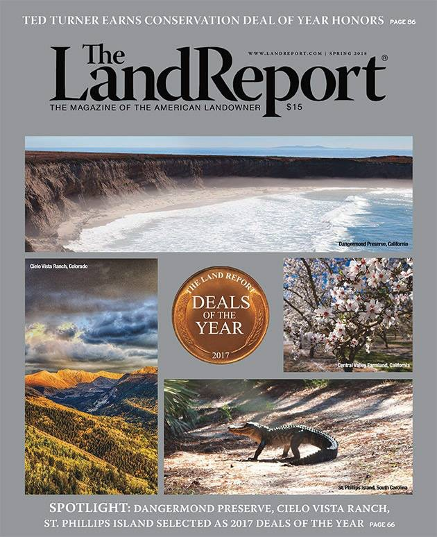 THE LAND REPORT | SPRING 2018 - cover