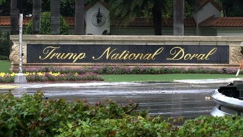US picks Trump resort for G-7; critics call choice 'brazen'