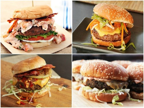 21 Juicy Burger Recipes for Your July 4th Cookout