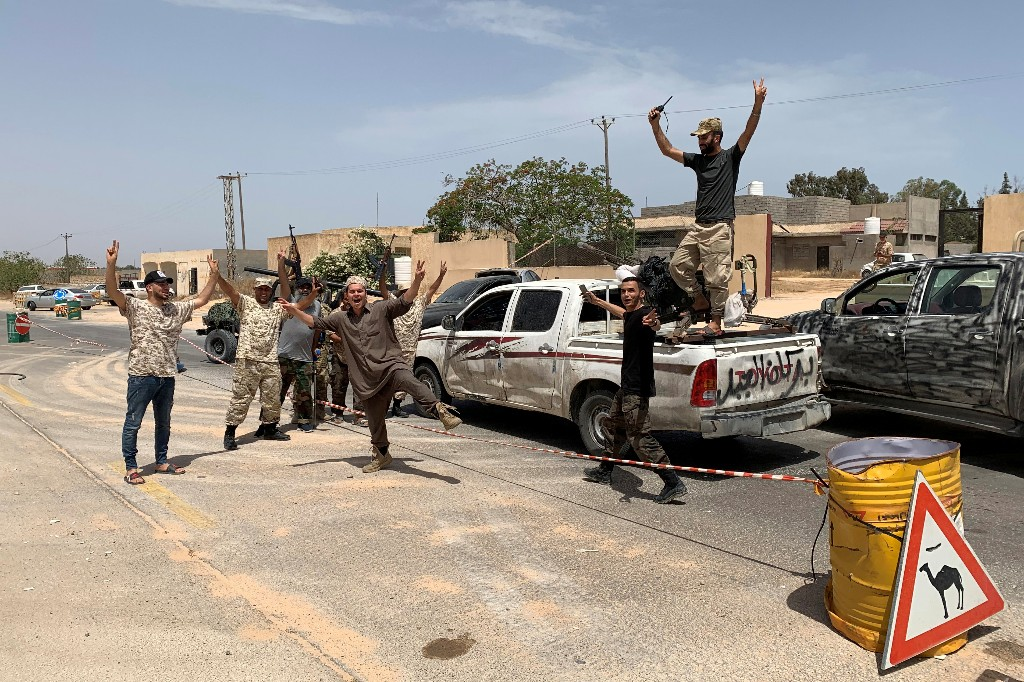 Libya's Tripoli government seizes last LNA stronghold near capital