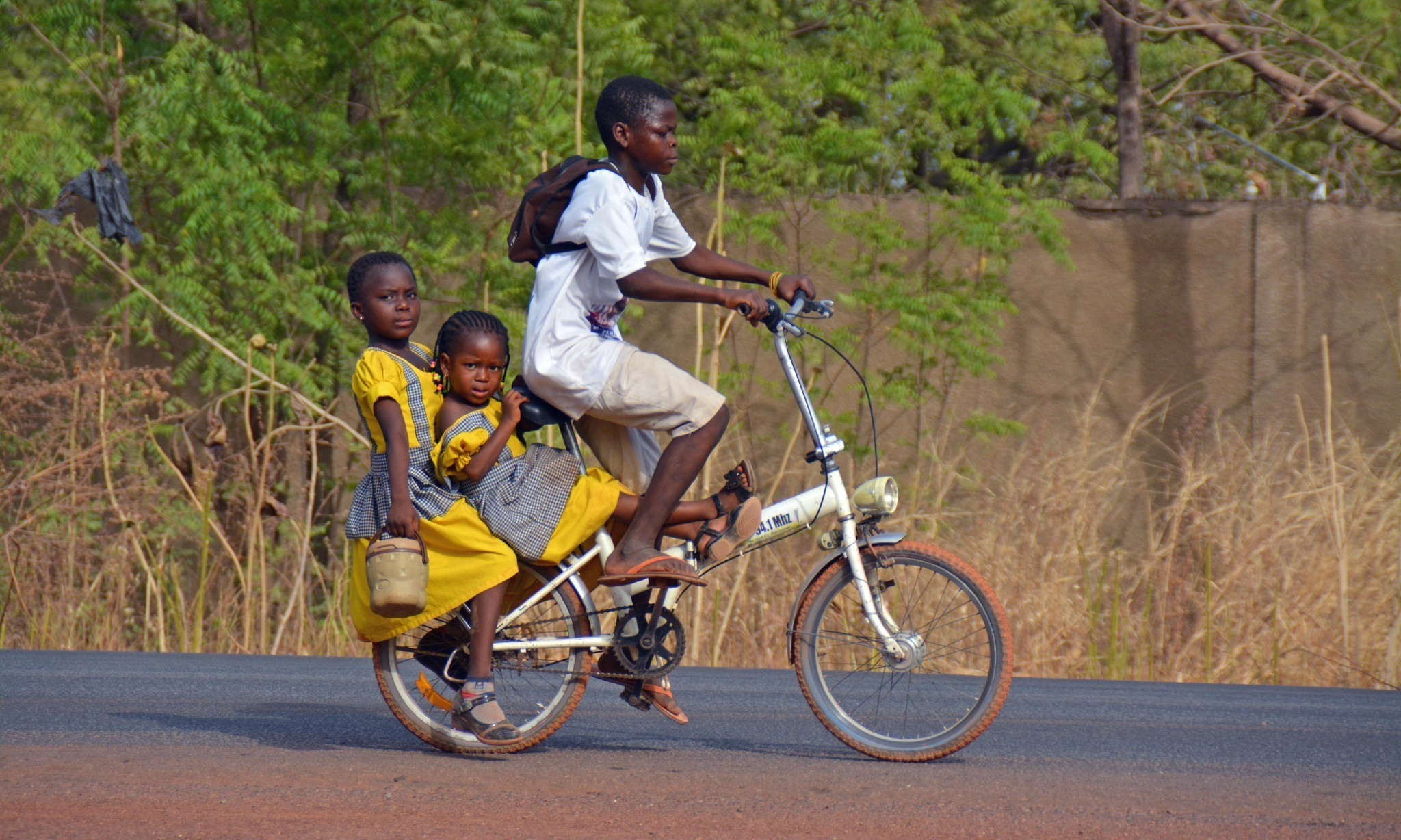 'I can pedal faster than a man can run' – how bikes are changing the dynamic on Africa's roads