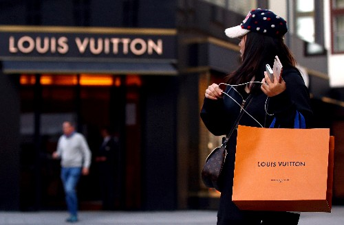 LVMH briefly sinks almost 9 percent; traders suspect 'fat finger'