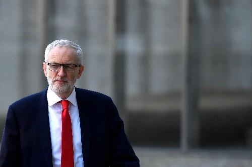 Man jailed for cracking egg on head of UK opposition leader Corbyn