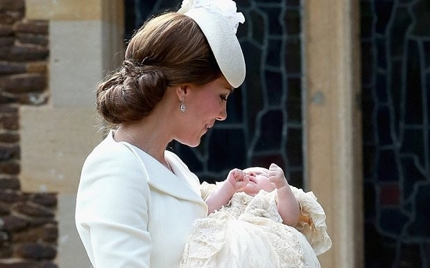 Princess Charlotte christening laden with memories of Diana, Princess of Wales