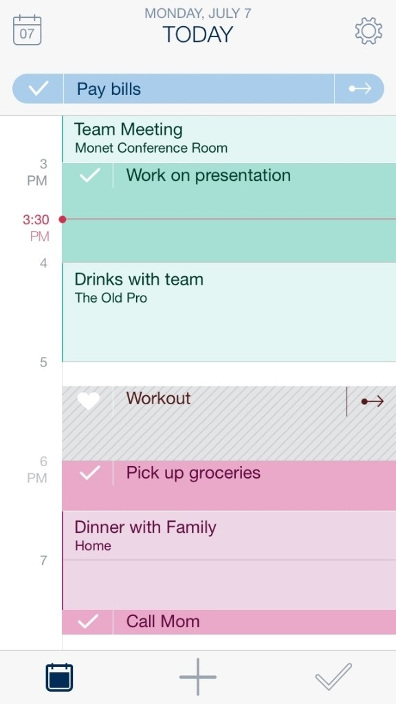 Timeful for iPhone uses behavioral science to make your calendar and to-do list smart