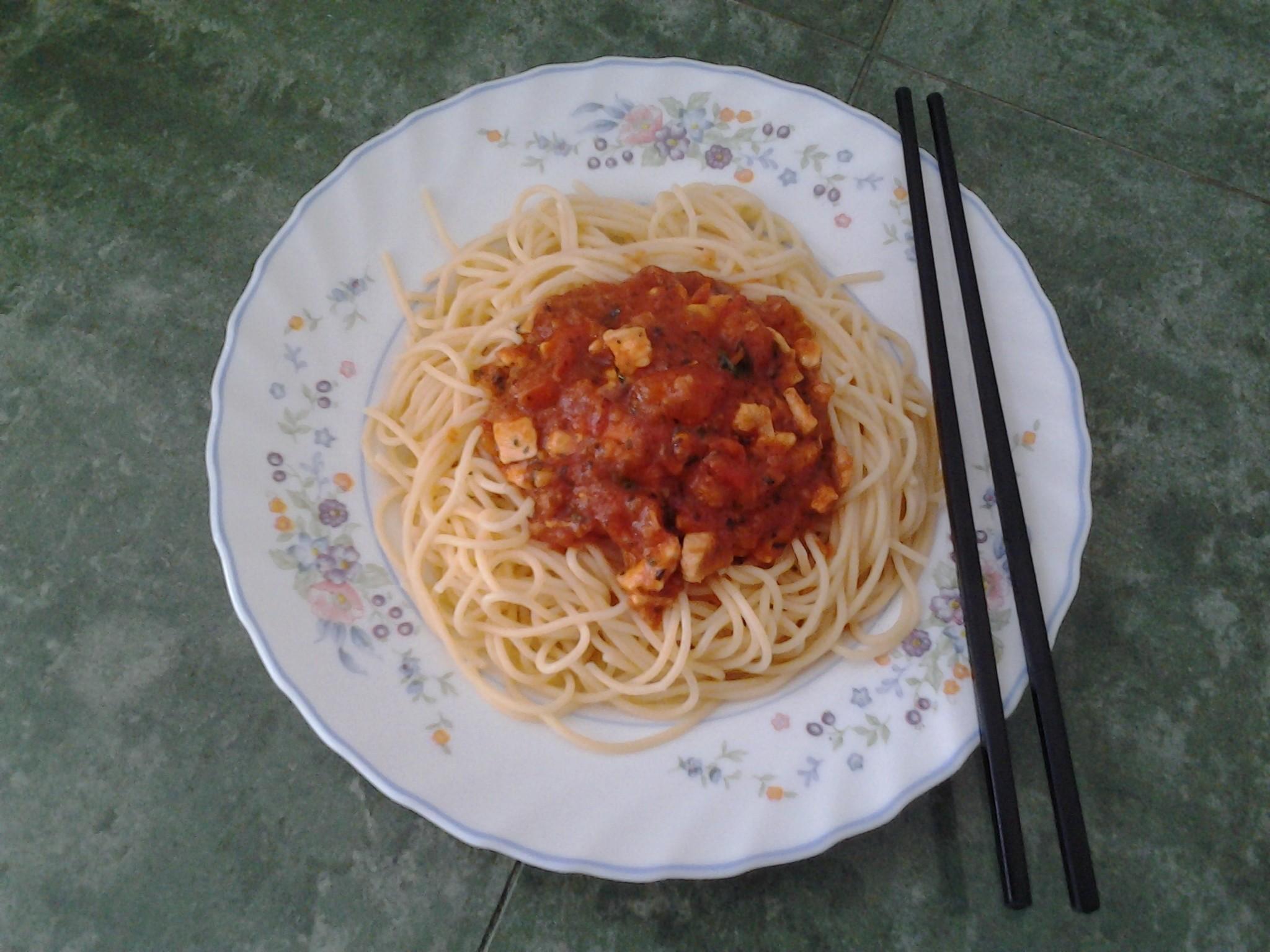 My style pasta