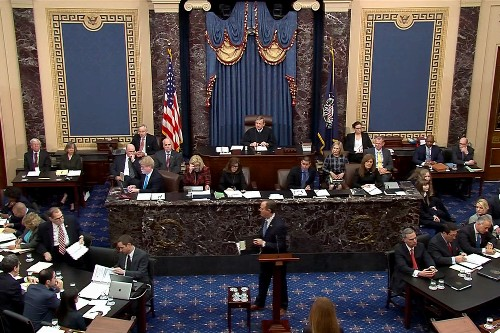 There's something else at stake in Trump impeachment: control of U.S. Senate