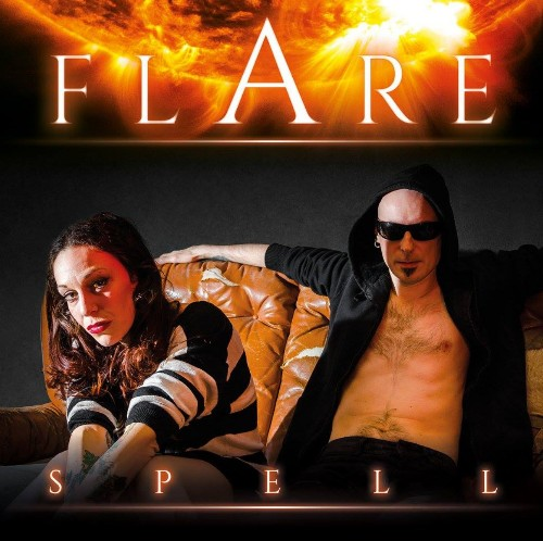FLARE  ROCKS  OUT - Magazine cover