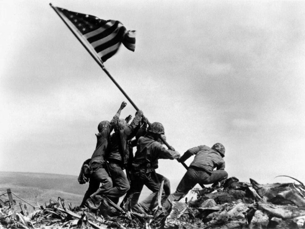 Marine Corps investigating photo of iconic flag-raising on Iwo Jima