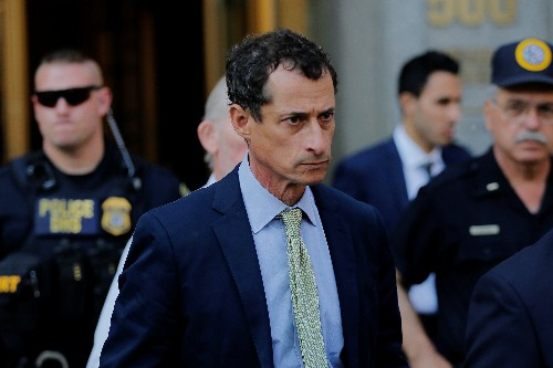 Ex-congressman Weiner released from prison after sexting scandal