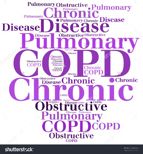 COPD Awareness  - Magazine cover