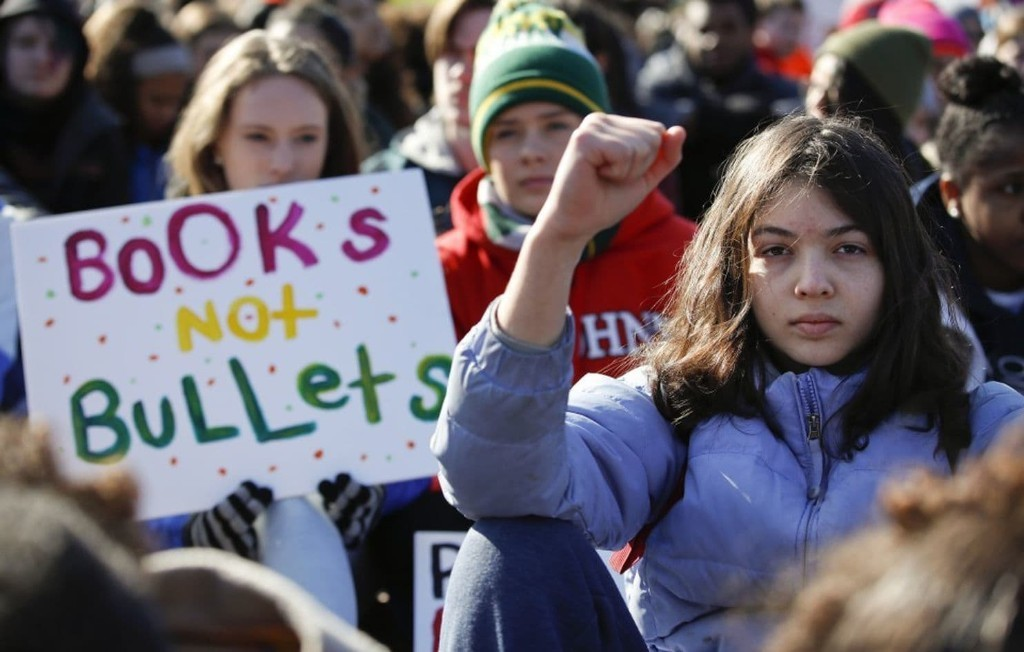 Young people aren't just protesting. They're applying class lessons on being responsible citizens.