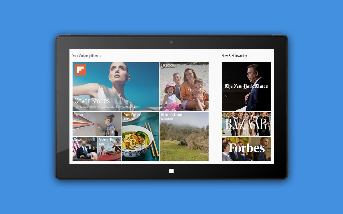 Flipboard Is Coming to Windows