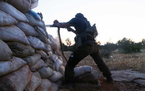 Main U.S.-Backed Syrian Rebel Group Disbanding, Joining Islamists