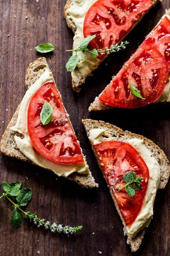 13 Hummus Sandwiches That'll Solve All Your Lunch Problems | HuffPost Life