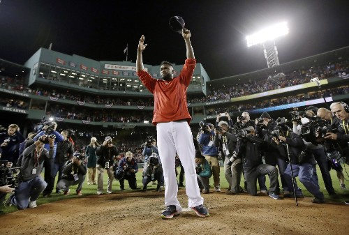 Compelling Images from the Baseball Playoffs