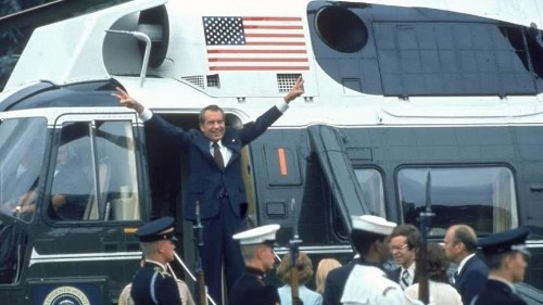 President Nixon Resigns: 40 Years Later - Cover