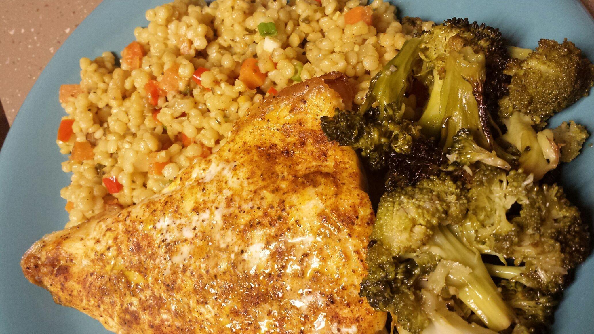 Dinner plate #broccoli #articchar #couscous #foodpic #foodgasm #foodporn #foodie #foodpedia #foodhunter #foodbloggers #eatwell #eathealthy #healthyeats #healthyfood #healthyeating #realfood #detroitfoodnetwork #detroitfoodie #detroitfood #delish #delicious #deliciousfood #deliciousfoods #deliciousness #instafood #foodnetwork #owntv #wholefoods #bestfoodworld #bestfood