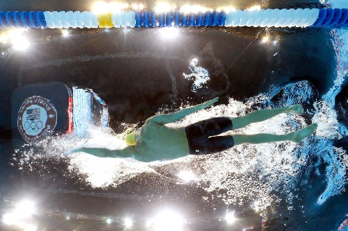 Phelps, New Faces Rule the Pool at Swim Trials: Pictures