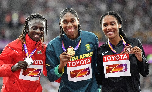 Defending champion Caster Semenya sidelined at worlds