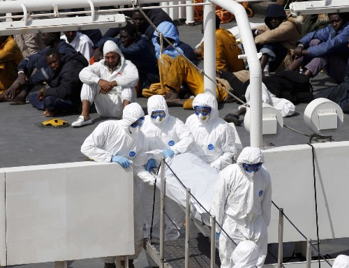 Migrant Disaster at Sea: In Pictures