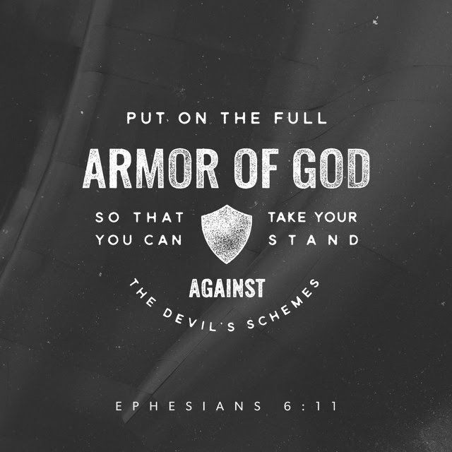 For our struggle is not against flesh and blood, but against the rulers, against the authorities, against the powers of this dark world and against the spiritual forces of evil in the heavenly realms. - Ephesians 6:12