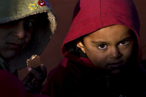 Heartbreaking Faces of Migrants' Children in Pictures