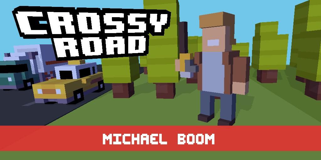 CROSSY ROAD - Magazine cover