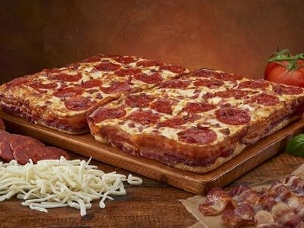 Little Caesars will sell pizza with a crust made out of 3.5 feet of bacon