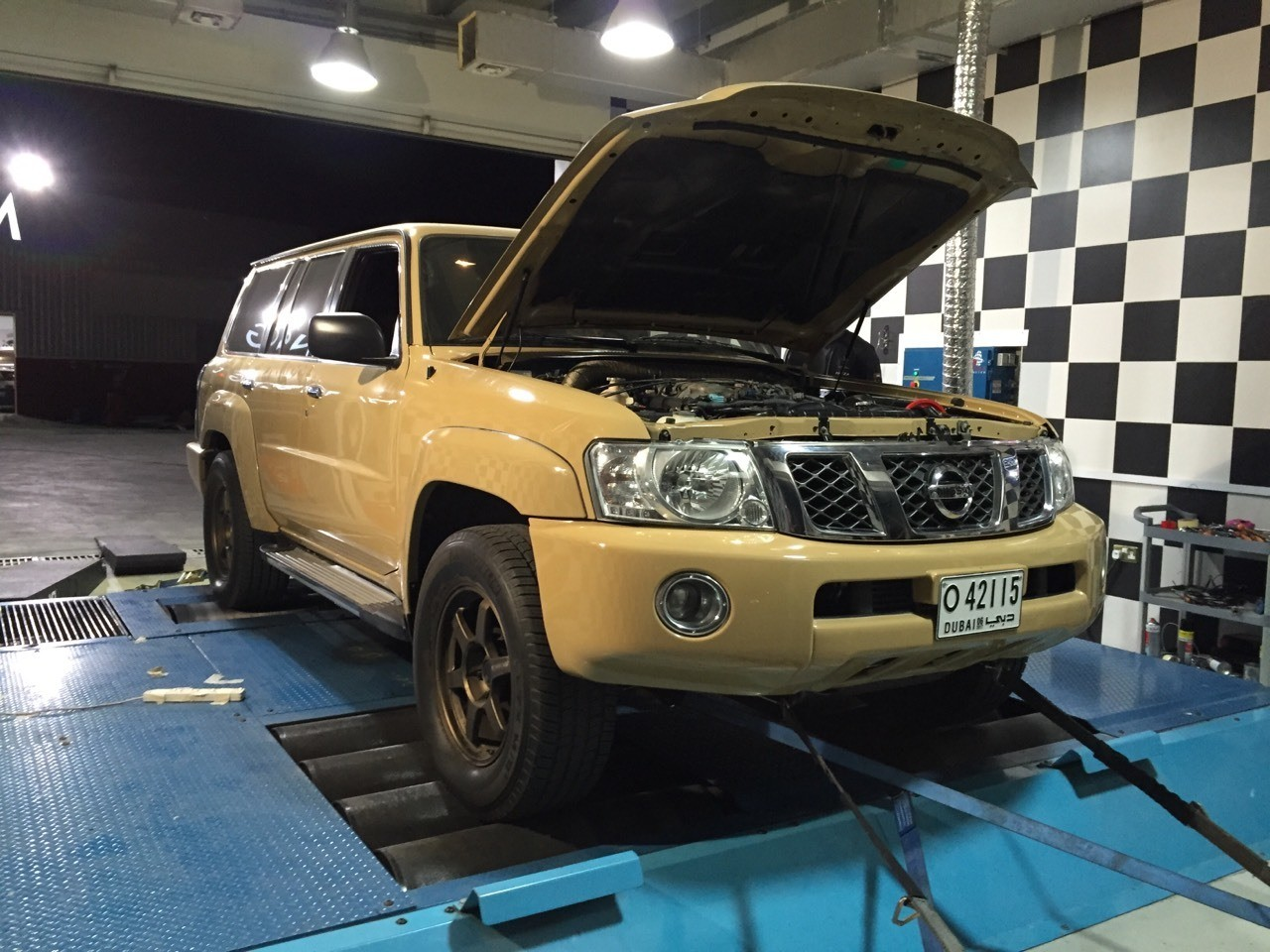 ihash gets turbo and tuning for Nissan patrol 4800