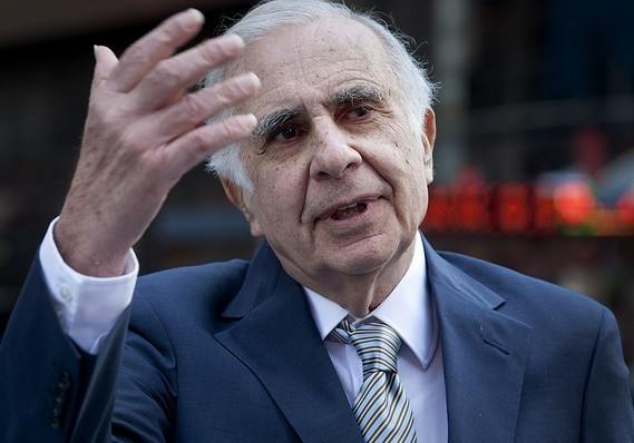 Carl Icahn loses $40 million on Hertz's stock in one day