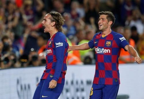 Antoine Griezmann mène le Barça à la victoire