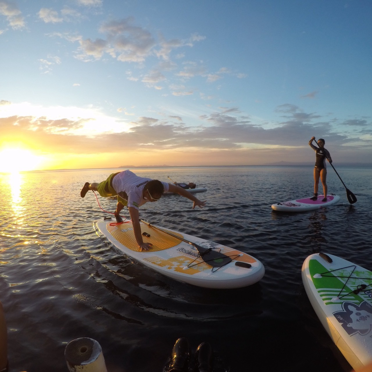 Let's go Stand Up Paddleboarding in Anilao!
