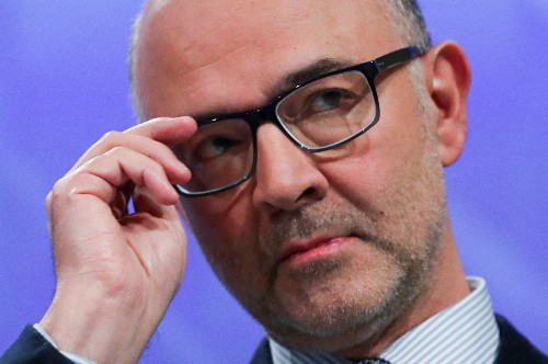 Moscovici appelle la France à contenir le dérapage du déficit 2019