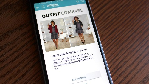 """Amazon will now tell Prime members what to wear via a new """"Outfit Compare"""" feature"""