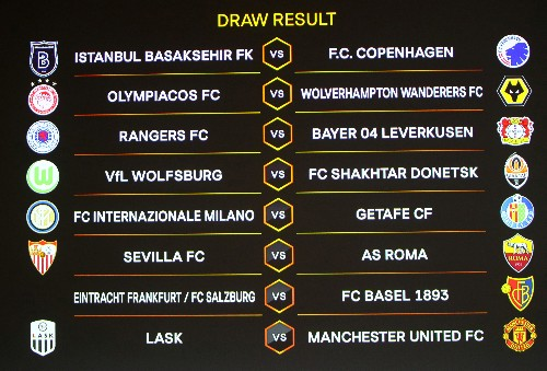 Manchester United draw LASK in Europa League, Wolves play Olympiakos