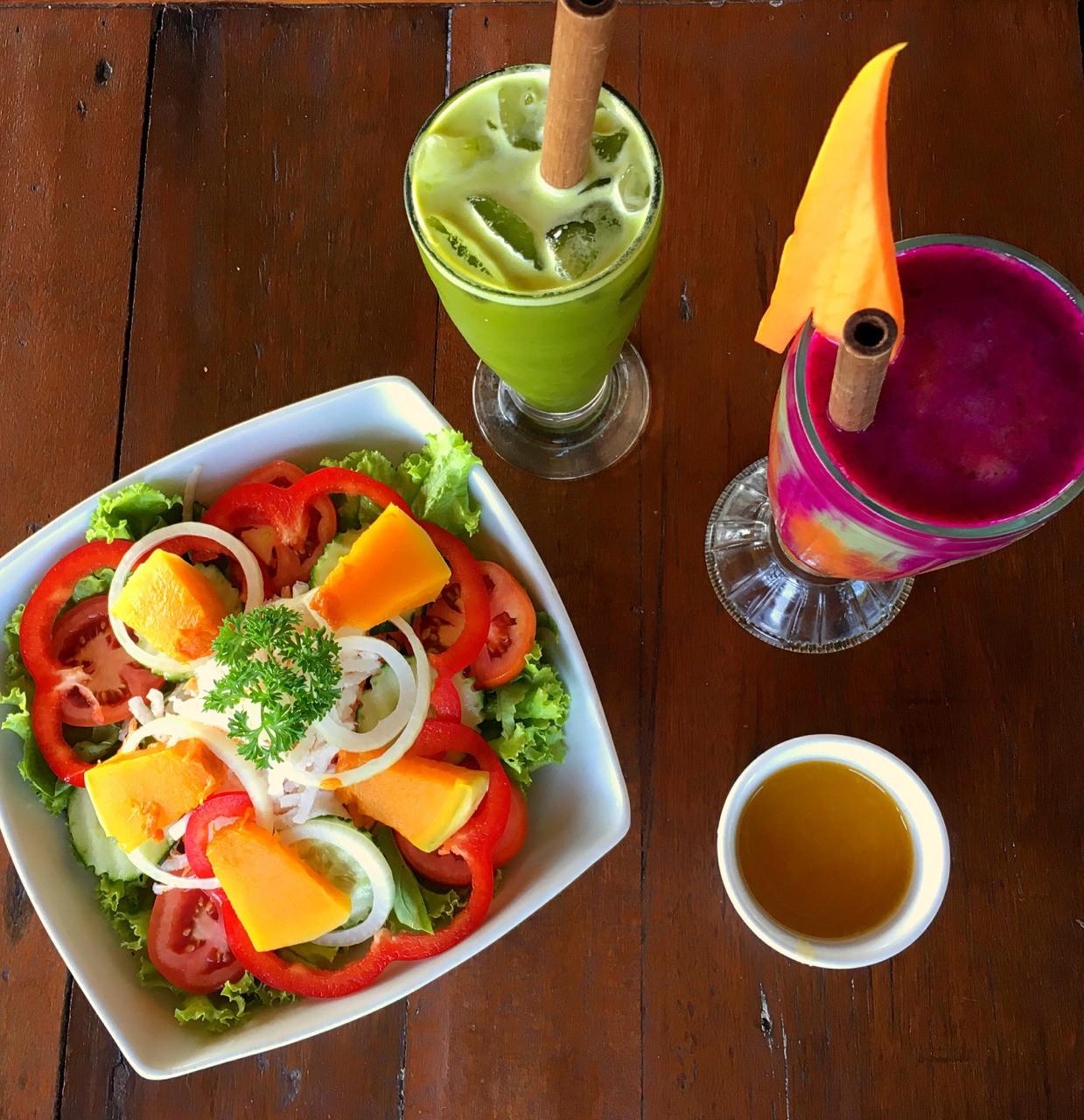 Lunch at Sari Organic Ubud #bali #vegan #indonesia