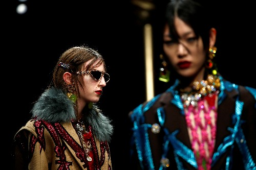 Luxury meets grunge at Versace Milan Fashion Week show