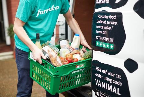 Online grocery platform Farmdrop raises £7M Series A led by Atomico