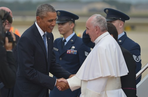 Pope Francis Arrives in the USA: Pictures