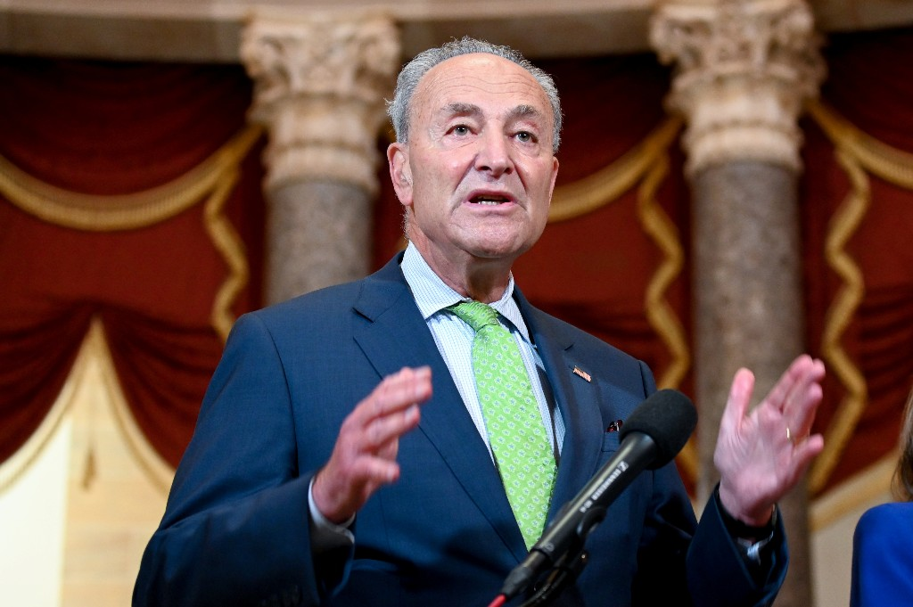 Schumer says Democrats ready for coronavirus aid talks, if Republicans move