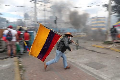 IMF awaits new fuel decree to revise Ecuador lending program: official