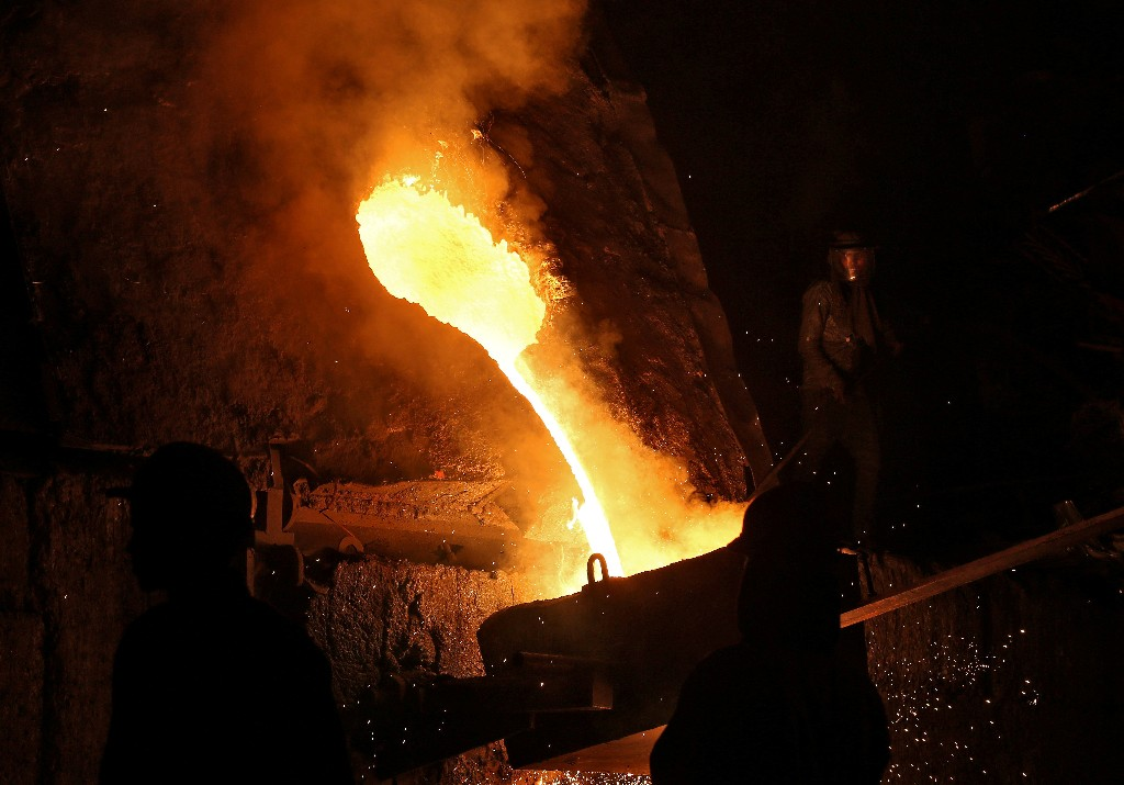 China bought nearly 30% of Indian steel exports in April-Sept - data