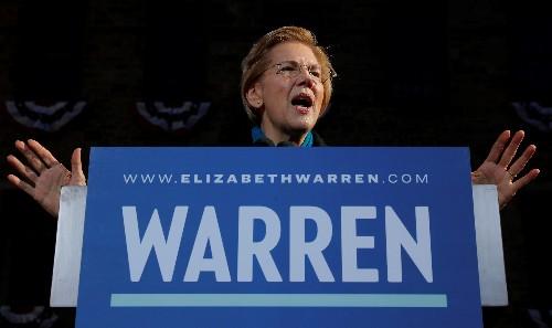 U.S. Senator Elizabeth Warren backs reparations for black Americans