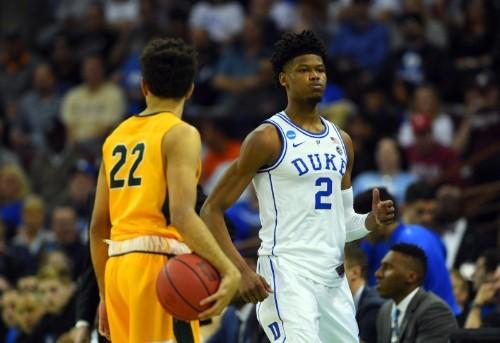 Duke freshman Reddish declares for draft