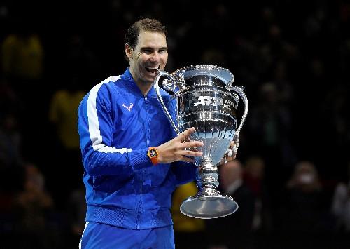 Nadal says ending year as number one is big satisfaction