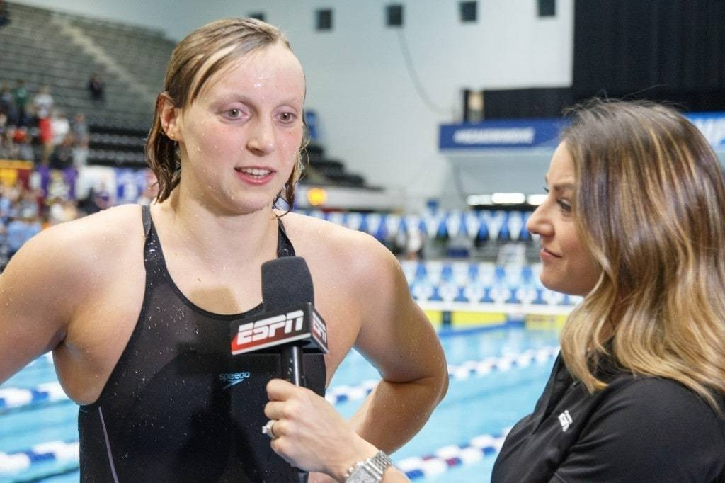 Katie Ledecky had one of the best freshman swimming seasons ever