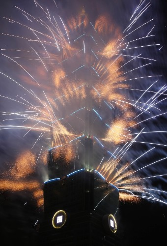 Happy New Year's in Pictures